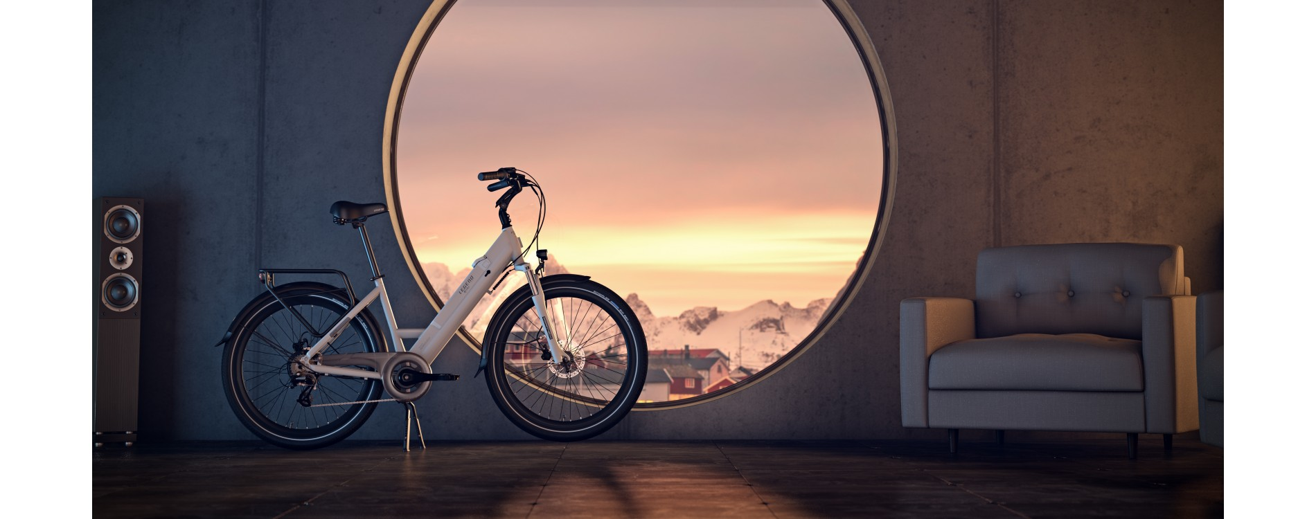 Milano Electric Bike 26 inch