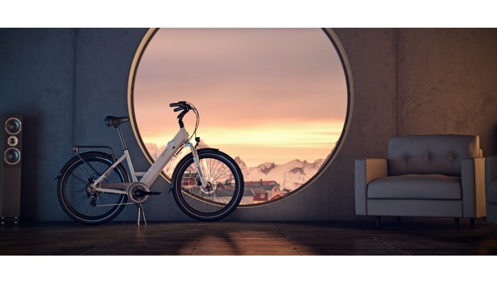 """Milano Smart Electric Bike """"Dutch Style"""" - 26 inch PREORDERS TAKEN NOW AT A  massive DISCOUNTED PRICE"""