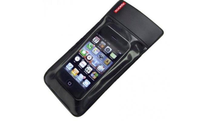 Klickfix waterproof Phone bag Smartphone holder