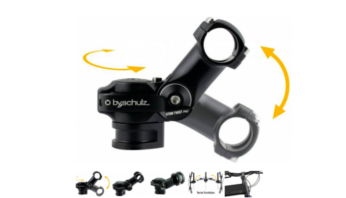 Etna Adjustable Stem by Schulz Twist Pro SDS