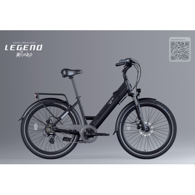 """Milano Smart Urban eBike """"Low Step Thru"""" - Dutch Style- Immediate Free shipping NZ wide- Buy Online Now and SAVE an instant 10%-use promo code """"Health10%"""""""