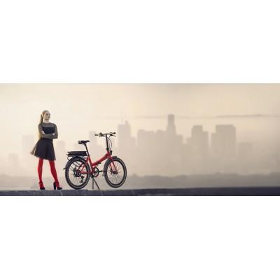 Siena Smart Electric Folding Bike - 24 inch