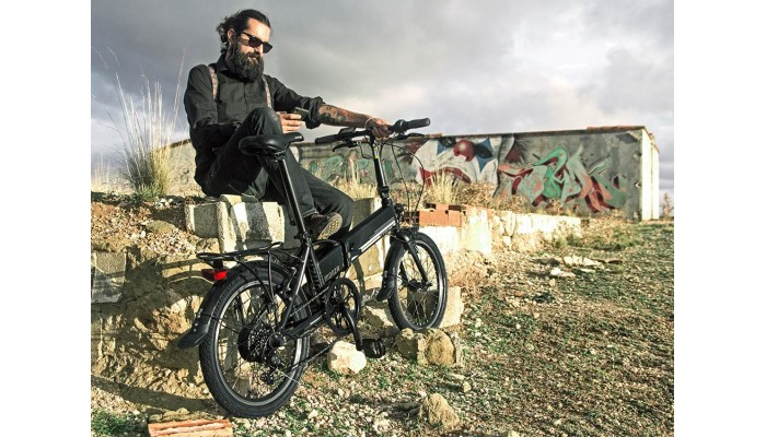 Monza Smart Folding Electric Bike - 20 inch
