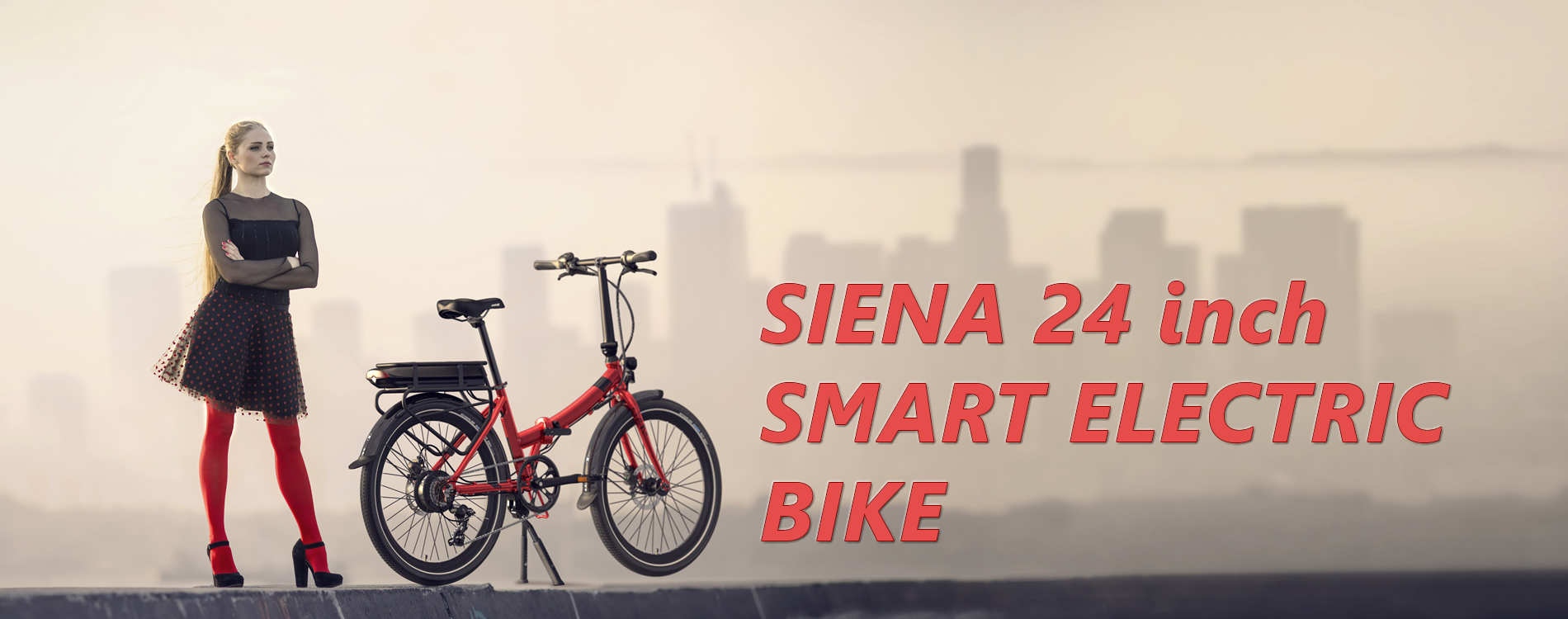 Siena Electric Bike - 24 inch