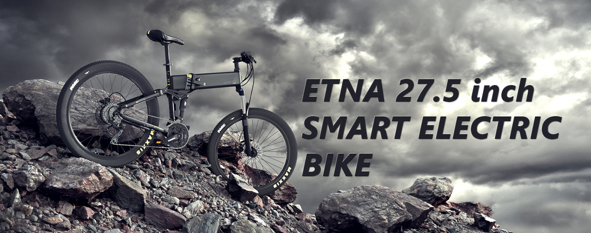 Etna Electric Smart Folding Bike 27.5 inch
