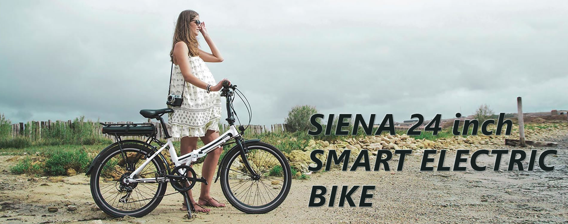 Siena Electric Smart Folding Bike - 24 inch